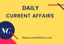 2nd March Current Affairs 2020