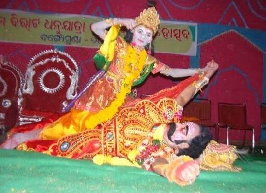 Dhanu Jatra begins at Bargarh in western Odisha