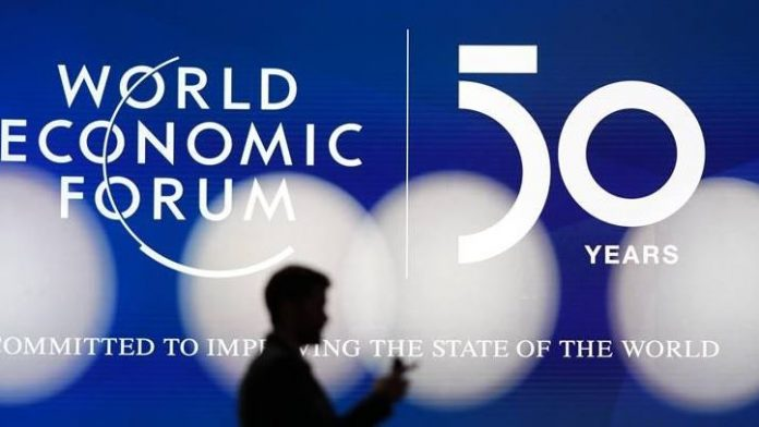 50th annual meeting of World Economic Forum in Switzerland
