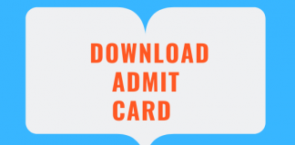 SSC CGL Tier I Admit Card